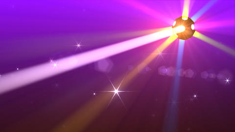 Disco Ball light F Cc HD Stock Video Footage