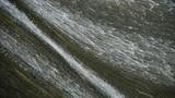 Waterfall texture,overflow dam,rainy season Footage