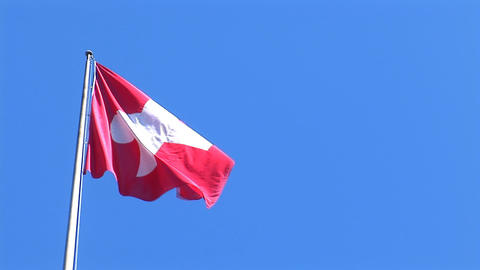 flag suisse 1 Stock Video Footage