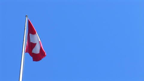 flag suisse 1 Footage