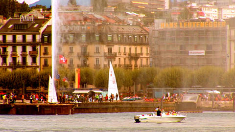 fountain geneva 2 Footage