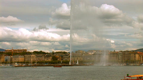 fountain geneva 6 Footage