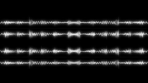 Audio Spectrum Zoom 01 Animation