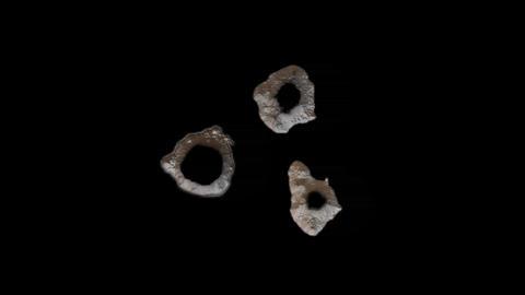 Three Bullet Holes 1 Footage