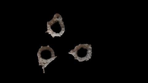 Three Bullet Holes 2 Footage