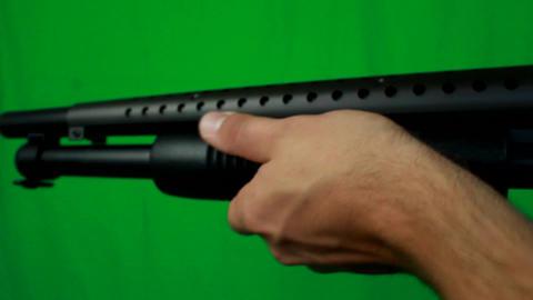 Shotgun Realoading And Taking It Away Live Action