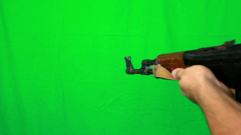 Long Shooting With Ak47 Live Action