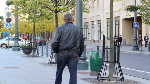 Light Street Human Traffic Footage