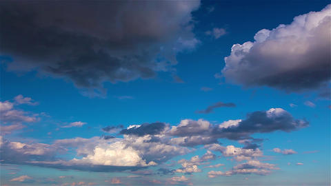 Sky And Clouds. 4K. FULL HD, 4096x2304 stock footage