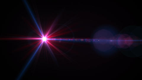 Just Horizontal Lens Flare 200 Footage
