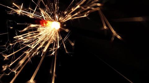 Burning Bengal Lights Sparkler 10 Footage