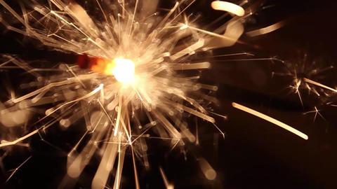 Burning Bengal Lights Sparkler 9 Footage