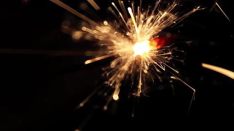 Burning Bengal Lights Sparkler 11 Footage