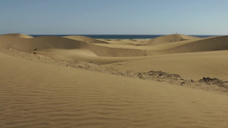 Spain The Canary Islands Gran Canary 016 glittering sands in Maspalomas dunes Footage