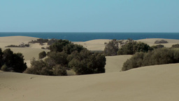 Spain The Canary Islands Gran Canary 011 dreamlike dunes landscape Footage