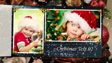 Christmas Photo Album After Effects Project