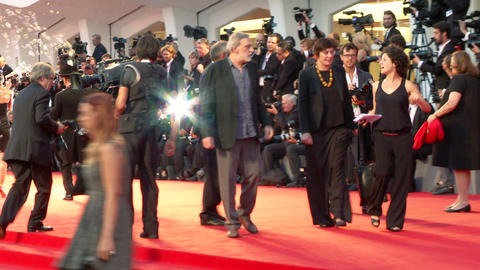 Gino Strada red carpet Footage