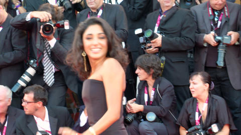 Golshifteh Farahani red carpet Footage