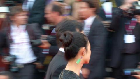 Jiang Wen red carpet Footage