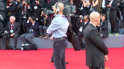 Marina Abramovich red carpet Footage