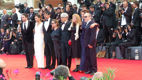 Venice Film Festival International Jury Footage