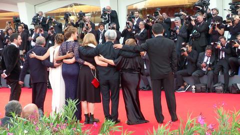 Venice Film Festival International Jury Footage