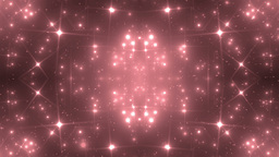 Background Red Motion With Fractal Design Animation
