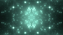 Background Neon Motion With Fractal Design Animation
