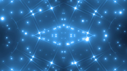 Background Blue Motion With Fractal Design Animation