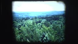 Vintage 8mm footage of Mt. Monadnock sign Footage