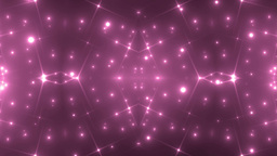 Abstract Pink Background Fractal Sun Animation