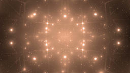 Abstract Orange Background Fractal Sun Animation
