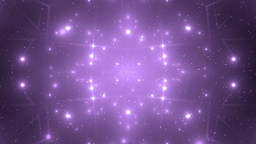 Abstract Violet Background Fractal Sun Animation