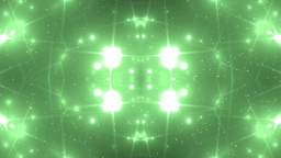Background Green Motion With Fractal Design Animation