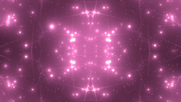 Background Pink Motion With Fractal Design Animation