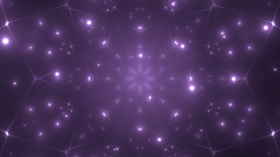 Abstract Violet Background Fractal Sun stock footage