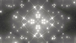 Background Silver Motion With Fractal Design stock footage