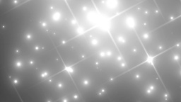 Floodlights Disco Silver Background Animation