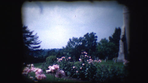 Vintage 8mm footage of an English Church Footage