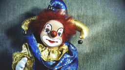 4 K Scary Clown Doll 33 stylized Live Action