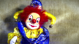 4 K Scary Clown Doll 36 stylized Live Action