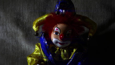 4 K Scary Clown Doll 37 stylized Live Action