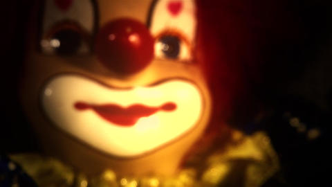 4 K Scary Clown Doll 41 stylized Live Action