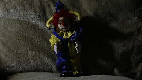 4 K Scary Clown Doll 8 Live Action