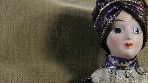 4 K Scary Venetian Doll 5 Footage