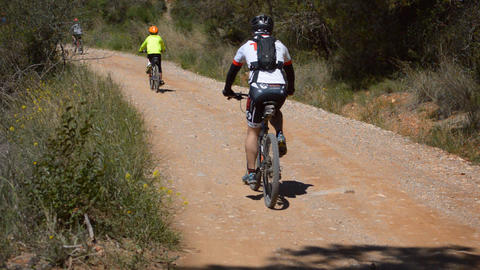 Highly Transited Mountain Bike Road Live Action