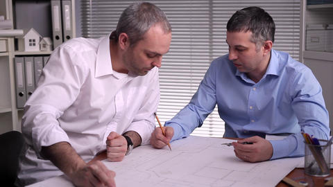 Joint development of the structural elements of the business center Footage