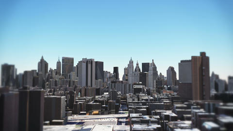4k timelapse New York from day to night,sunrise to sunset,Aerial Of City Footage