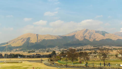 Mt Aso Timelapse Final Stock Video Footage