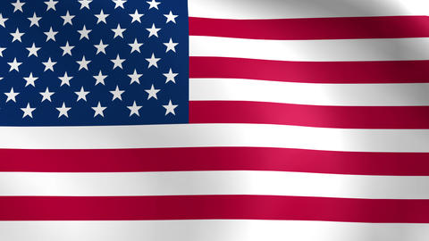 American flag animation loop Animation